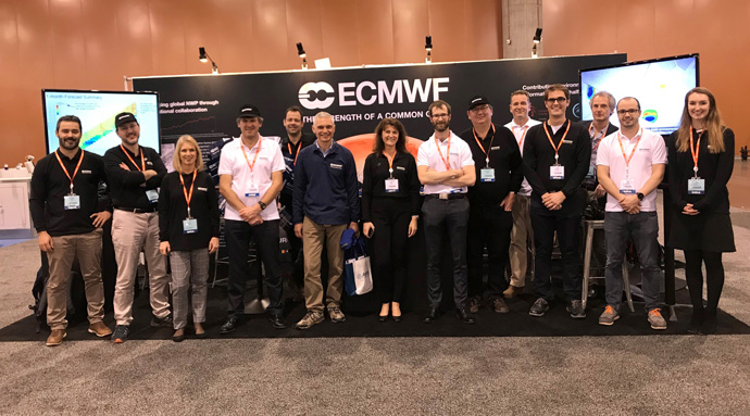 ECMWF staff at the AMS Annual Meeting